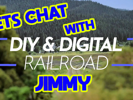 Lets chat with Jimmy from DIY & Model Railroad.