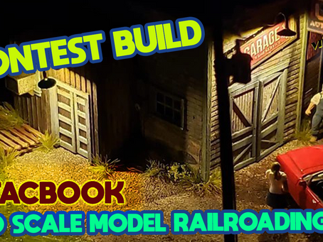 MRT Video Podcast #19 Buddy Lique HO SCALE MODEL RAILROADING Facebook Runner up. 2020