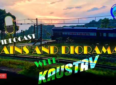 MRT Video podcast #4| Trains and Dioramas with Kaustav Chatterjee