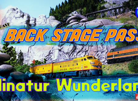 MRT Video Podcast #9 Back Stage Pass to the Minatur Wunderland.