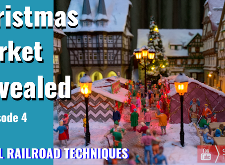 Realistic Model Christmas Market. Ep4