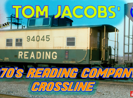 MRT Video Podcast #10-Lets talk about Reading Railroad Company Crossline Layout