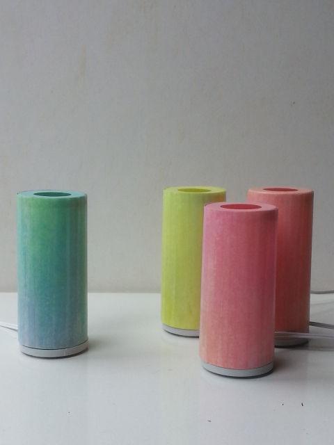 Kleines Licht, Tischlleuchte aus Japanpapier, handgemacht