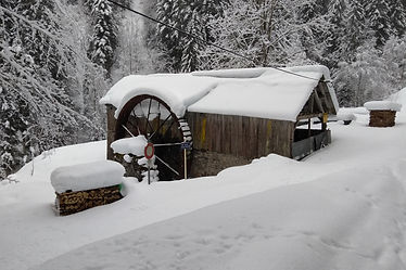 Hydro electric can power a chalet
