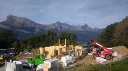 Kingspan chalet build France