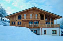 chalet winter ski combloux