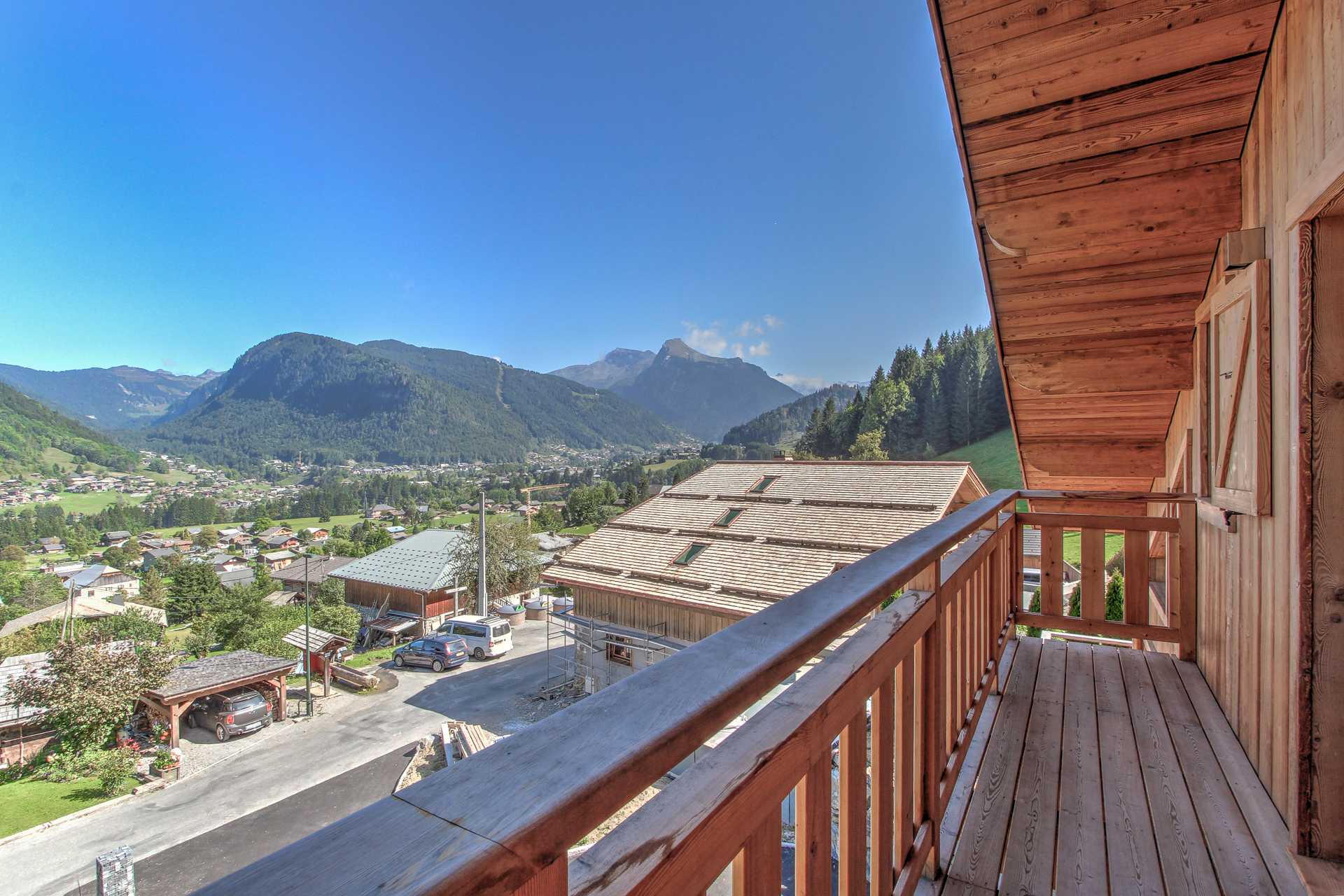 Chalet view
