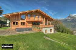 Haute Savoie eco chalet
