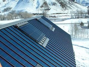 Kingspan solar collector