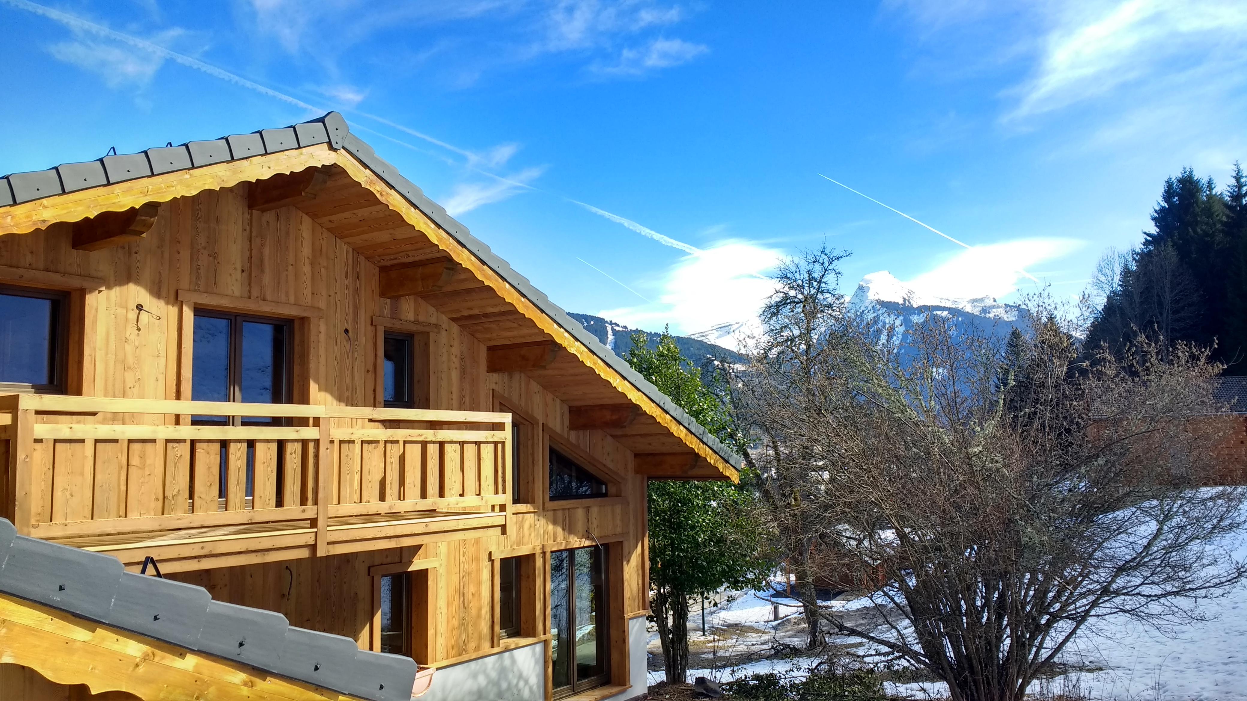 build own ski chalet