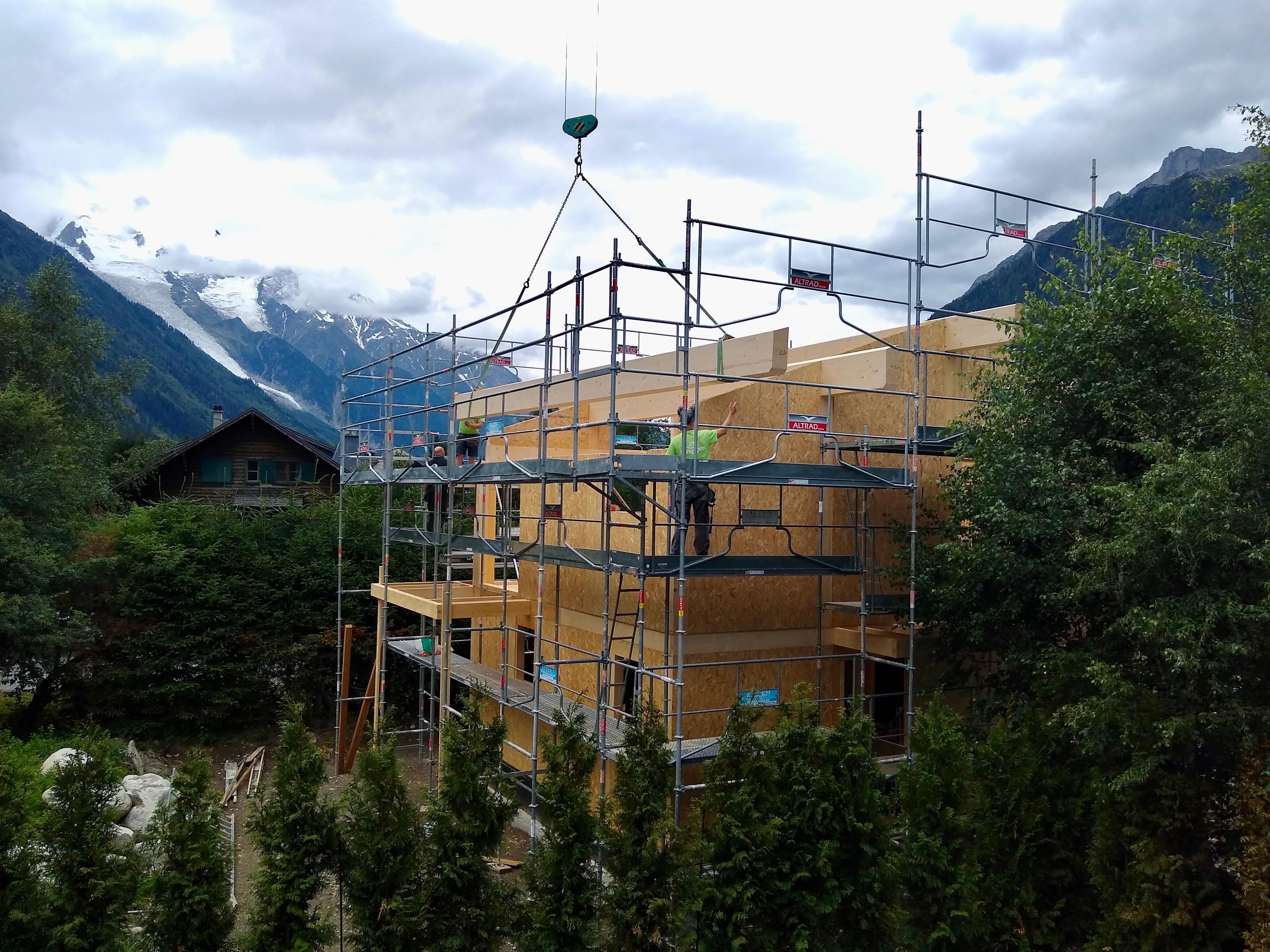 SIP build Chamonix