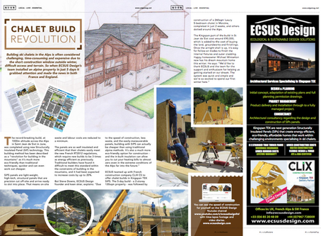 Alps Ski Magazine Features ECSUS Design