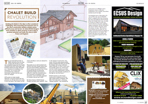 Chalet Build Revolution in the French Alps
