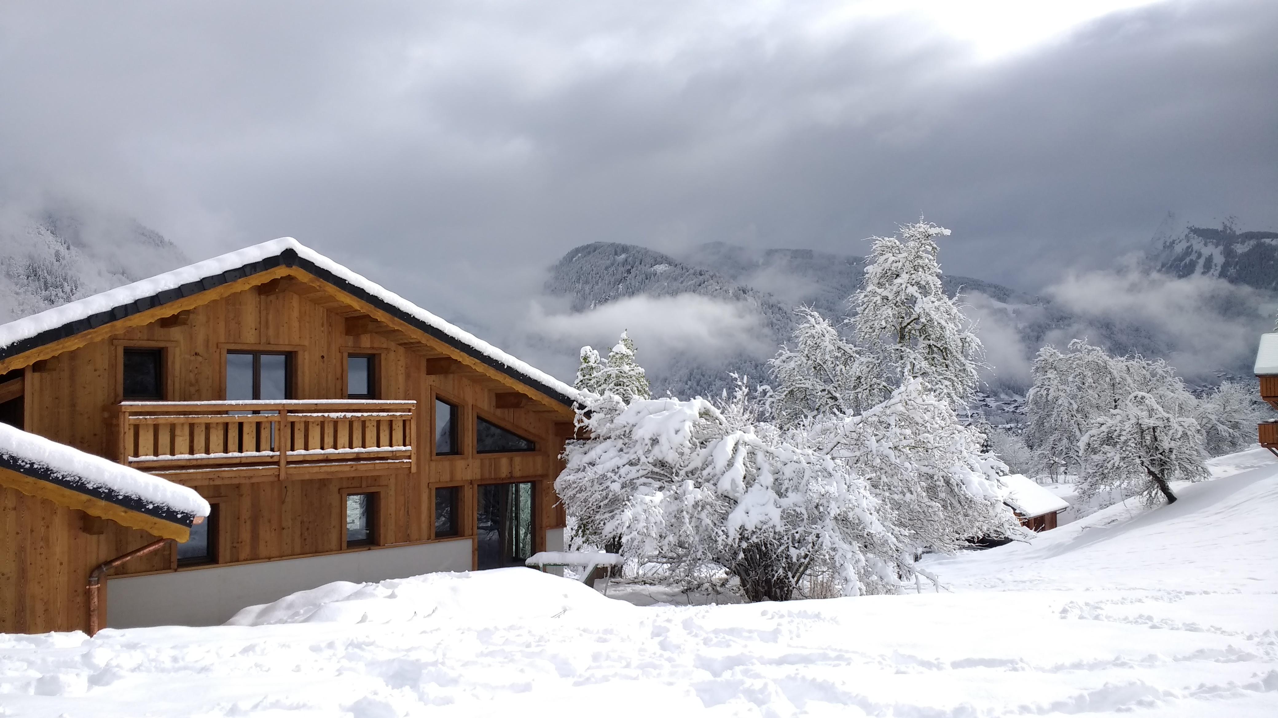 Build ski chalet French Alps