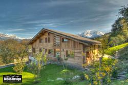 Eco chalet Haute Savoie
