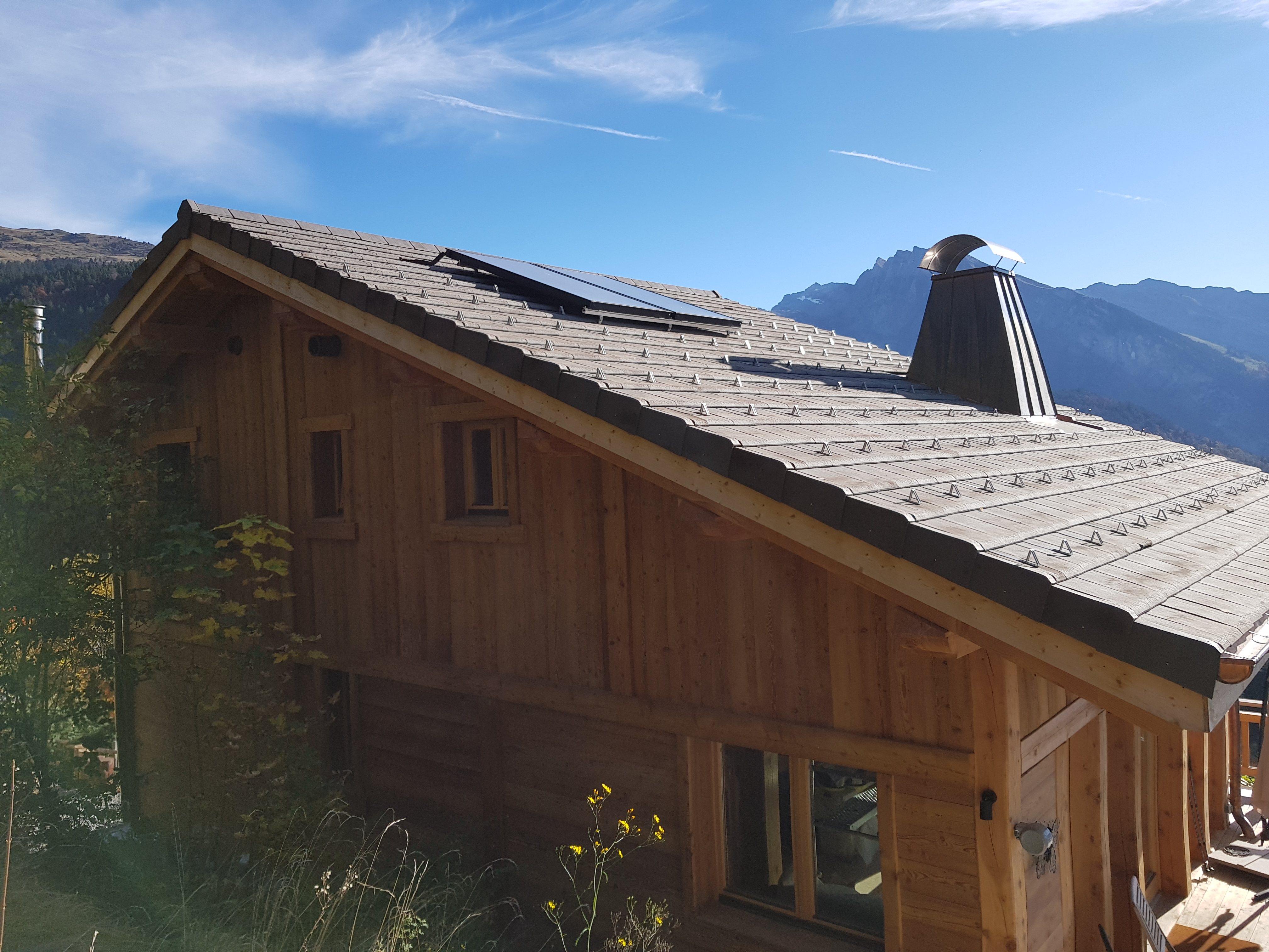 Build new ski chalet