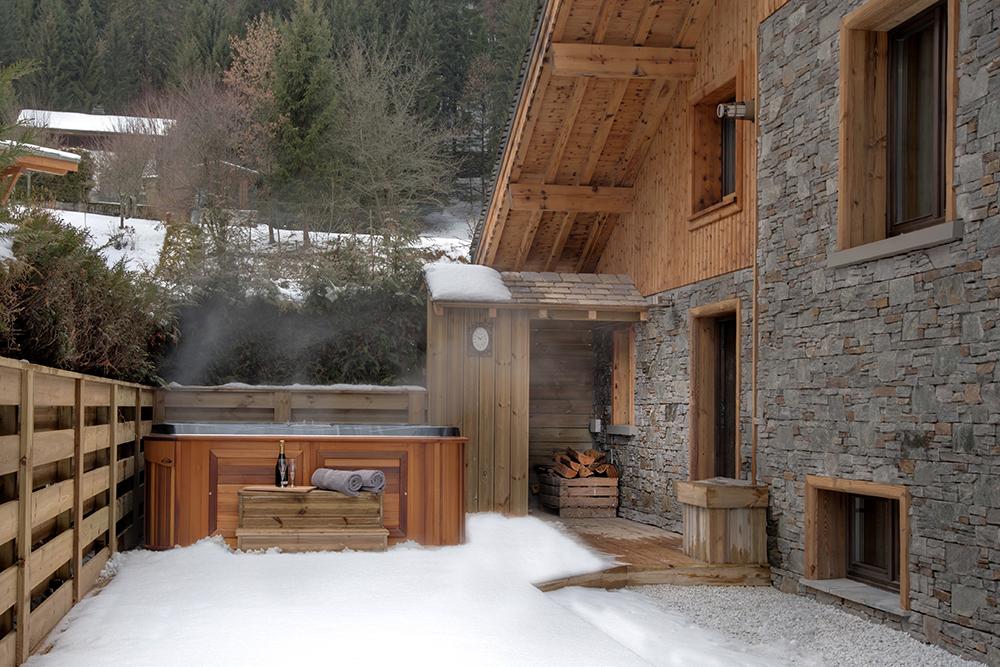 Build ski chalet