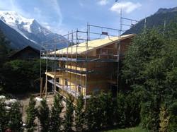 Build chalet Chamonix