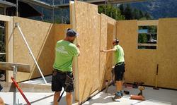 Kingspan build Chamonix