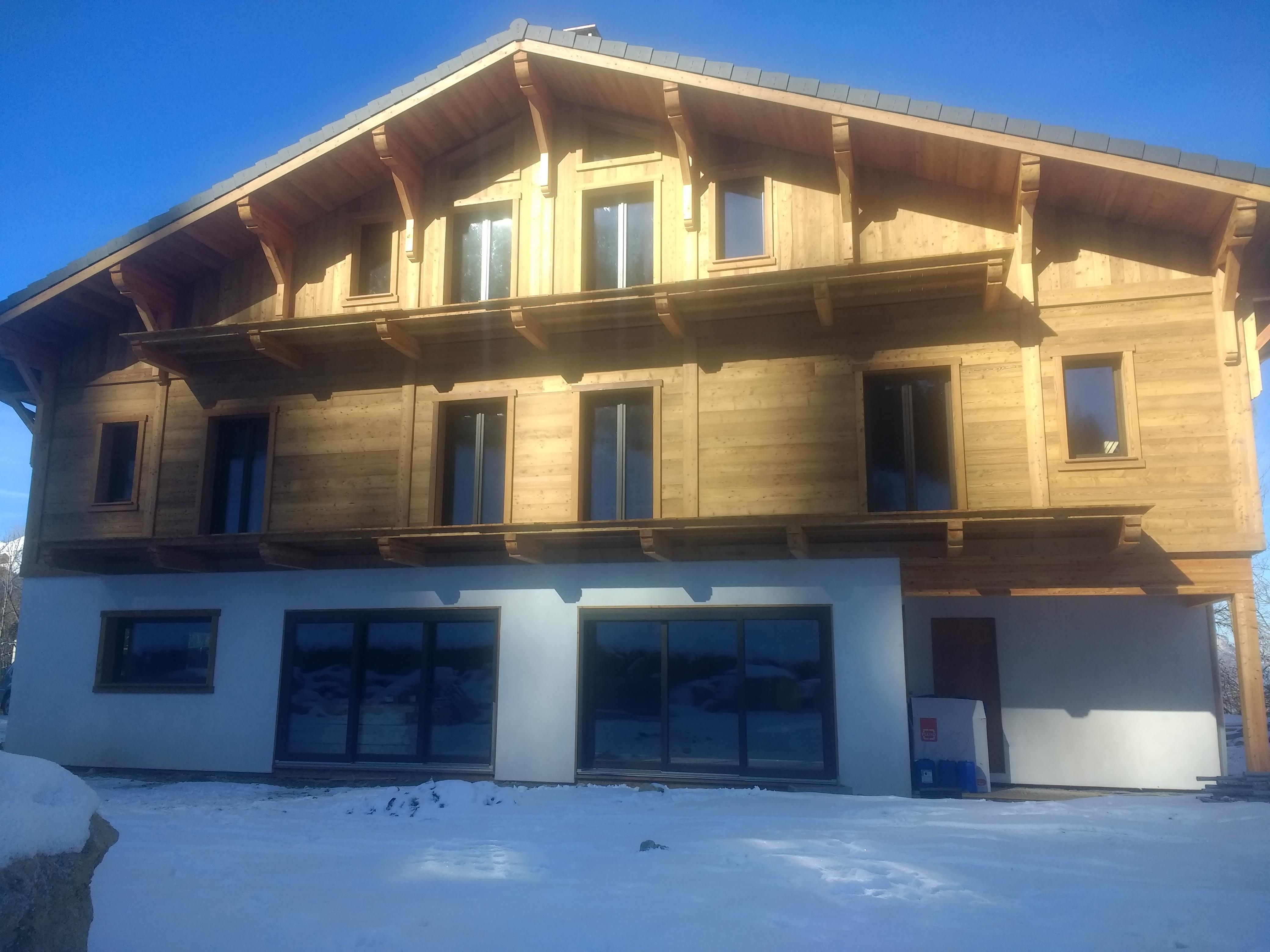 Ski chalet design build