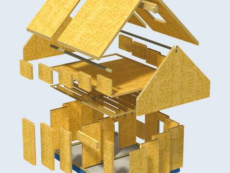 Construction de Maison SIP (Panneaux à Isolation Structurale) Vs en Kit