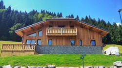 Morzine eco chalet build