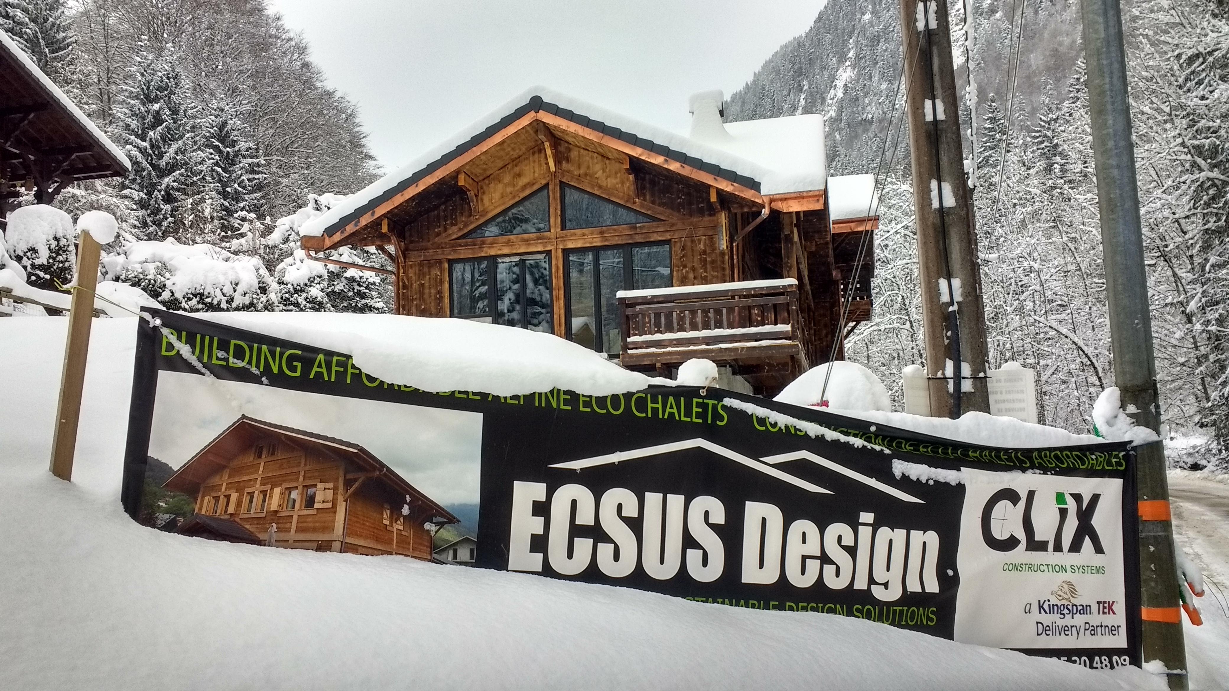 Ski chalet build Morzine