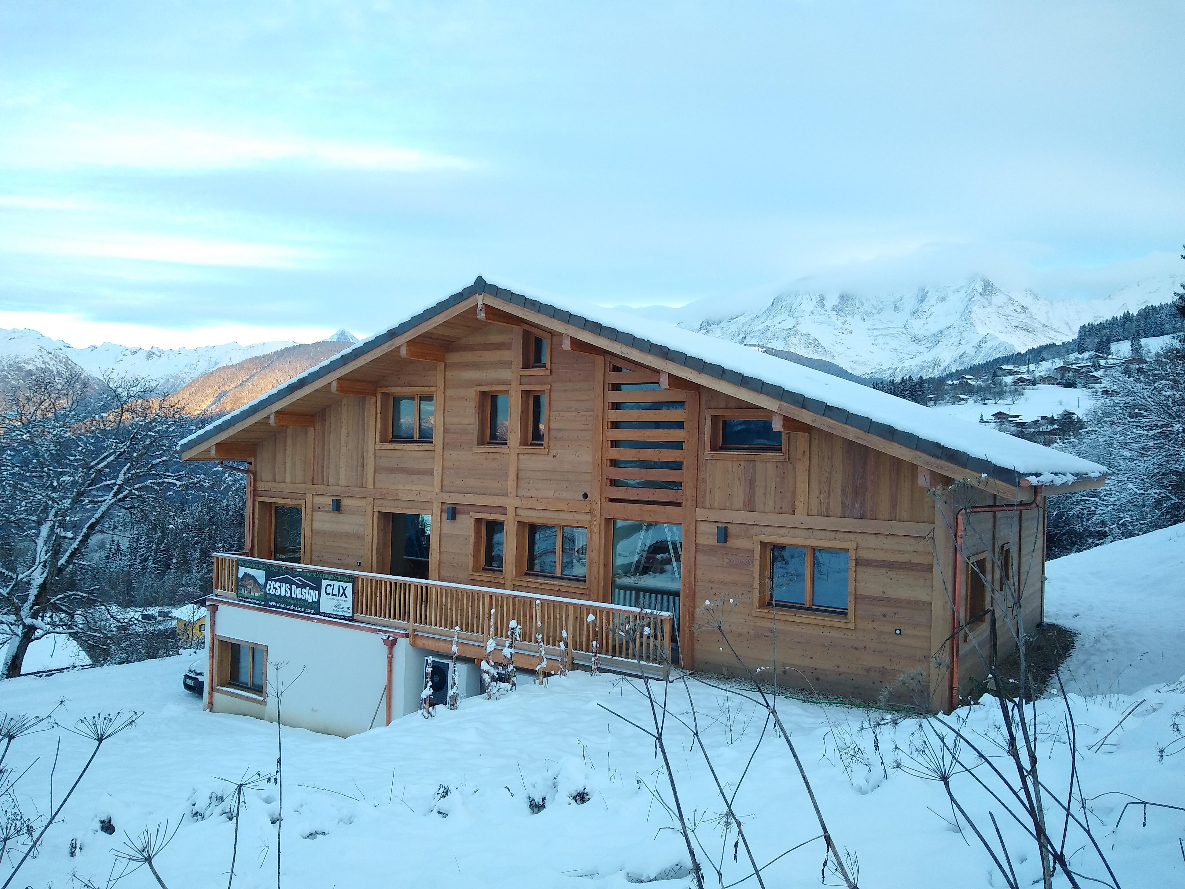 Mont Blanc view chalet