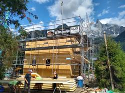 Construction Chamonix