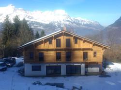 Ski chalet construction Saint Gervais