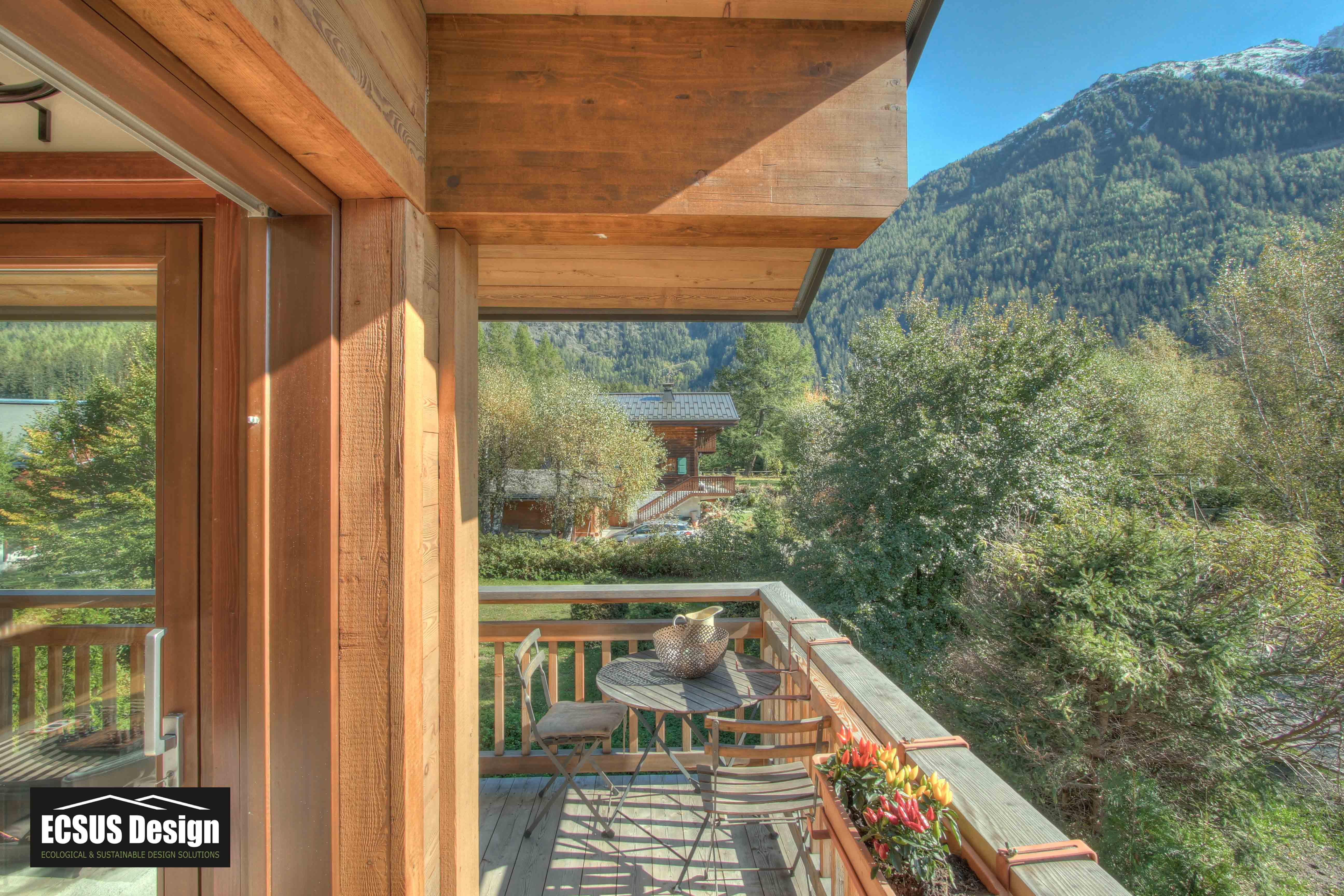 Chalet view Chamonix