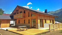 New build chalet French Alps