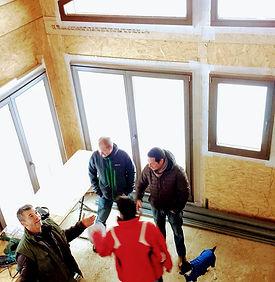Energy efficient ski chalet build in Morzine