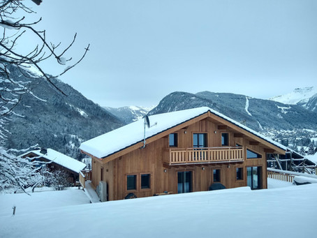 ECSUS Design Chalets Set New Eco Standards
