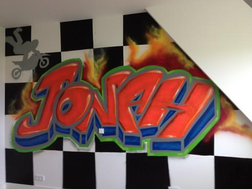 Kinderslaapkamer Motorcross, Jonah