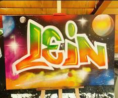 Lein, space thema.