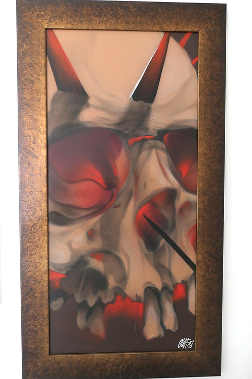 Red Skull (81x44) by Cliff