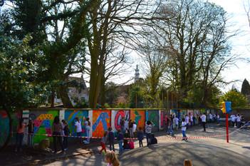 Workshop op school, Middelburg.