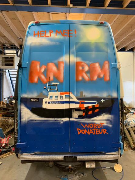 KNRM Hansweert bus