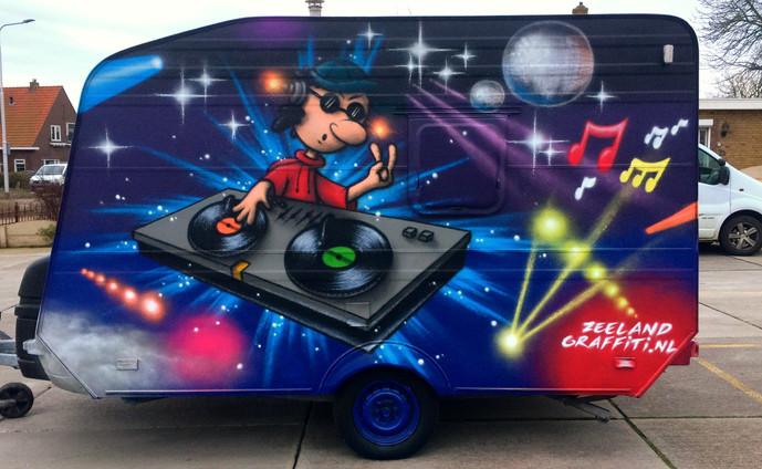 Muziek caravan, Sint-Laurens.