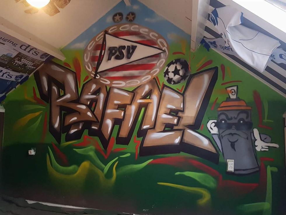 Slaapkamer Voetbal, Rafael
