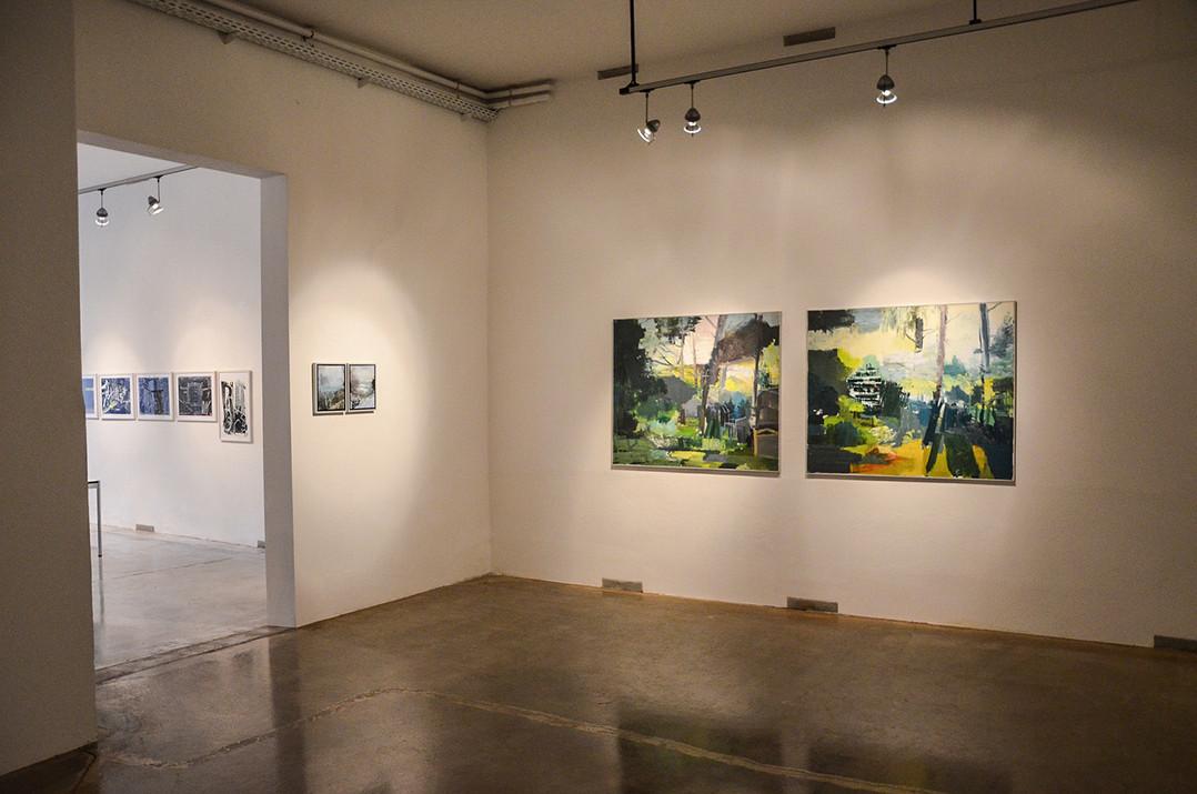 Ausstellungsansicht RESET - NEW CODES, Bueffelfish Gallery, 2016
