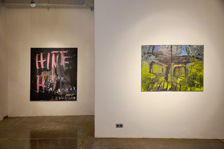 Ausstellungsansicht #FACTS, Bueffelfish Gallery, 2017