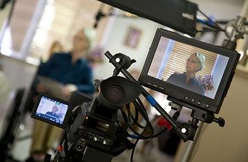Settlement video being taken