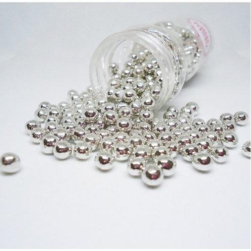 Streusel Mix  - Choco Crisp - Silber Perlen