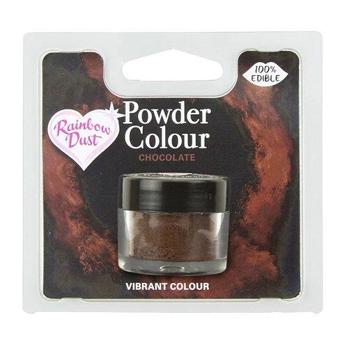 RD Powder - Essbares Glanz Glitzer Puder - Chocolate Braun