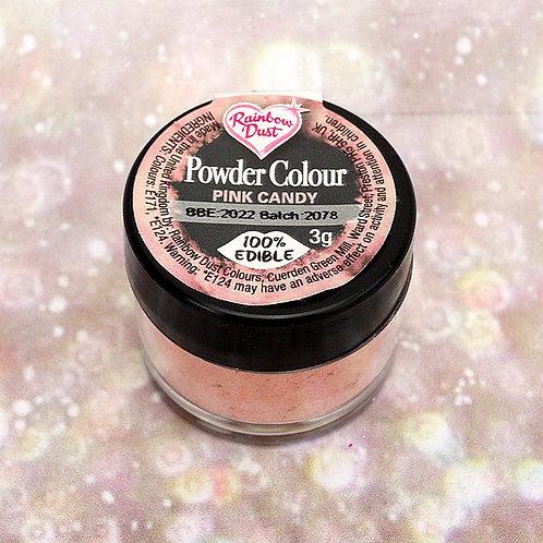 RD Powder - Essbares Glitzer Glanz Puder - Pink Candy