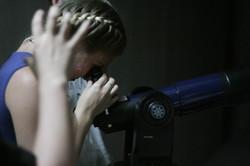 ... а ещё у нас есть телескоп.