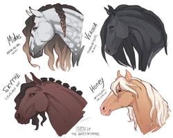 кони красивенькие