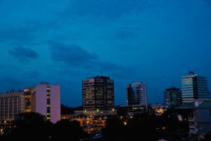 The Missing American: Accra's growing skyline (Photo: Yaw Ansong/Wikipedia)